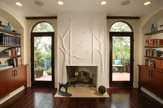 Writer's Retreat - Pasadena Showcase 2012 - modern - home office - los angeles - CBA Technology