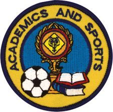 Cub Scout Academics and Sports Embroidered Emblem