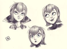 Mavis Making Faces