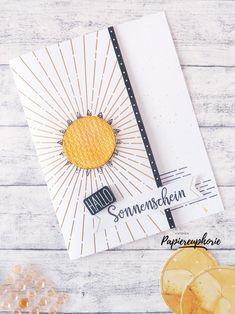 einfache Gutscheinkarte giftcard Paper Pumkin  #sharesunshine #diycards #crafting #astridspapiereuphorie #stampinup #stampinupösterreich #stampinupdemo #giftcard #gutscheinkarte #paperpumkin #sonnepur #hellosunshine #stampinupwien #kreativmitpapier #diy #handemadecards #cardmaking #paperlove #bastelnmachtspass #diycards #creative #diykarten #papierliebe Stampinup, Paper Pumpkin, Creative, Paper, Gift Cards, Sun