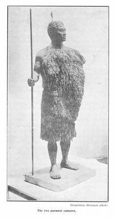 The two garment costume. — Dominion Museum photo | NZETC