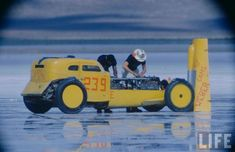 Many racing legends and innovations have been born on the 160 square mile barren patch known as the Bonneville Salt Flats.  The 1950s in particular saw a revolution in the hot-rodding scene that be…