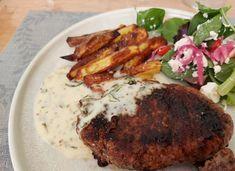 Nem og lækker esdragonsovs – Dalsgaard i Skivholme Steak, Dips, Food, Sauces, Essen, Steaks, Dip, Meals, Yemek