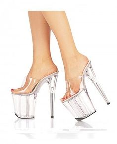 4b37ce68e3 Sexy Shoes - 8 Inch Heels - Sexy 8 Inch High Heel Shoes With Platforms main  image. Miss Hollywood · Clear stripper shoes