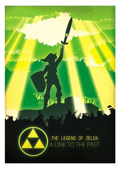 The Legend of Zelda: A Link to the Past -  my favorite forever and always