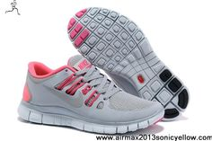 Latest Listing Discount Grey Pink Nike Free 5.0 580591-061 Womens Shoes Store