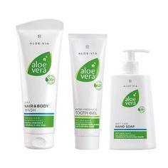 Aloe Vera hygiene set - Everything you need for daily freshness & hygiene