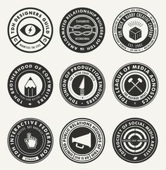 #badges #graphic #circle #typography #utility #copy