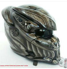 New Predator Alien Motorcycle Helmet