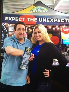 Wayne P. was working at the Nat'l Western Stock Show and picked up a $50 Destiny Of Riches ticket from the Lottery tent. He scratched his $3 million prize right there on the spot!
