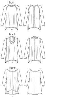 V1261 | Misses' Tunic | View All | Vogue Patterns
