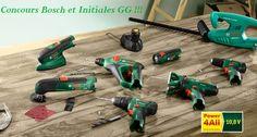 {concours} Gagnez l'outil de votre choix grâce à Bosch et Initiales GG !