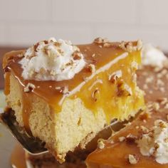 This luscious cheesecake will be your new pumpkin obsession.