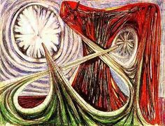 """Episode of the course """"Great surrealist painters of all time"""" Born in 1911 and raised and educated in Chile, Roberto Matta became one of the greatest Latin Abstract Art Images, Abstract Paintings, Most Famous Paintings, Ap Art, Art Database, Space Travel, Time Travel, Mixed Media Canvas, Abstract Expressionism"""
