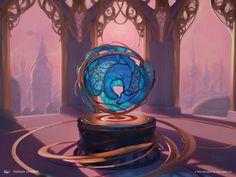 Glassblower's Puzzleknot MtG Art by Kieran Yanner