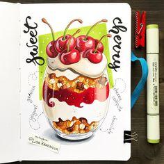 Mmmmm! Yummy and healthy  Thanks @simplegreenrecipes for inspiration! Из всей еды я больше всего люблю, конечно, сладкое :) Раньше я…