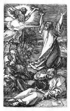 Durer - Agony in the Garden (Passion № 2) 1508