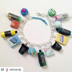 How cute is this #lush #lushcosmetics #charmbracelet from @iartcandy #bbloggers #beautybloggers #bbloggersuk