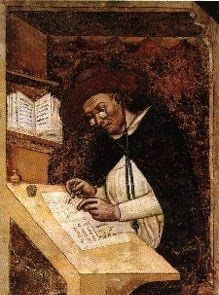 The first known artistic representation of the use of eyeglasses was Tommaso da Modena's painting in 1352.