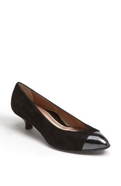Free shipping and returns on BeautiFeel 'Alice' Pump at Nordstrom.com. Polished patent caps the toe of a shimmer-struck suede pump set on a glossy kitten heel.
