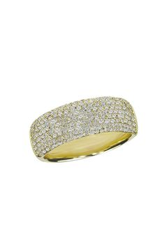 killer.  more details here.Effy Jewelry Pave Classica Yellow Gold Diamond Ring, .99 TCW
