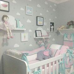 Bébé en vu?! 15 idées «déco Nuages» pour la chambre du nouveau venu… Inspirez-vous!