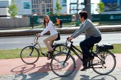While majority of ebikes in Holland are owned by baby boomer generation, younger riders will even this out.