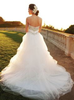 Casablanca wedding dress style 2052  Just love