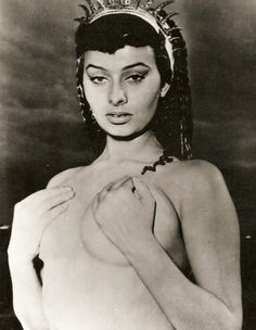 "Sophia Loren, ""Two Nights with Cleopatra"", 1953"