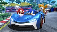 Check out Team Sonic Racing tips. Team Sonic Racing is a 2019 kart racing game and a spinoff from Sega's Sonic the Hedgehog series. News Games, Video Games, Ps4, Playstation, Big The Cat, Kart Racing, Mario Kart, Nintendo Switch, Nintendo Sega