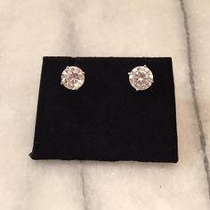 Diamond Stud Earrings Dazzling diamond stud earrings Jewelry Earrings