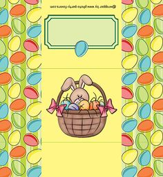 Candy bar wrapper-- http://www.photo-party-favors.com/candy-bar-Easter-bunny-in-a-basket.html