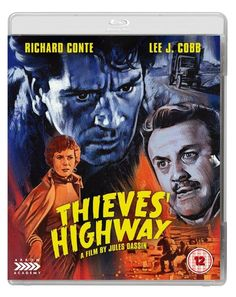 Thieves' Highway - Blu-Ray/DVD (Arrow Region B/2) Release Date: Available Now (Amazon U.K.)