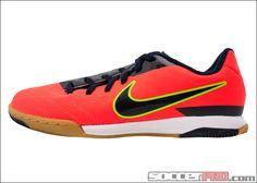 Nike Youth T90 Shoot IV IC - Bright Crimson with Dark Obsidian...$40.49