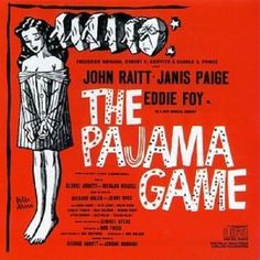 THE PAJAMA GAME - John Raitt - Janis Paige - Eddie Foy - Broadway Musical CD