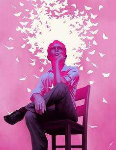 artmonia:  The Thinker by Liam Peters
