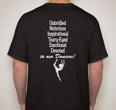 """""""Dance Moms UNITED"""" Fundraiser - unisex shirt design - small - back"""