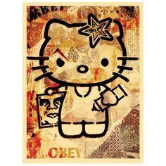 Obey en la Galería Rue de Beauce, París