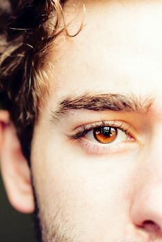Chris's eyes