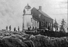 (c. 1859) Winter Harbor Light - Winter Harbor, ME