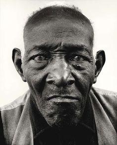 William Casby who was born into slavery, by Richard Avedon, Louisiana, 1963.