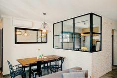 Scandinavian Dining Room Design: Ideas & Inspiration - Di Home Design Industrial Interior Design, Home Interior Design, Contemporary Interior, Kitchen Interior, Kitchen Design, Kitchen Ideas, Glass Kitchen, Open Kitchen, Kitchen Windows