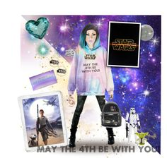 """May the 4th be with you!"" by legosmurf on Polyvore featuring Urban Decay, Lime Crime, Loungefly, Hallmark and GALA"