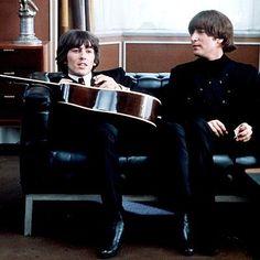 The Beatles on Help movie 1965