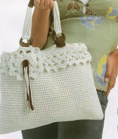 """New Cheap Bags. The location where building and construction meets style, beaded crochet is the act of using beads to decorate crocheted products. """"Crochet"""" is derived fro Love Crochet, Bead Crochet, Crochet Crafts, Crochet Handbags, Crochet Purses, Crochet Bags, Knitted Bags, Crochet Accessories, Beautiful Bags"""