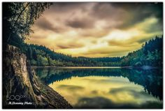 Talsperre Eibenstock by oldhart57 #landscape #travel