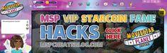 MSP Hack for VIP, Starcoins, Fame, & Diamonds  http://mspcheatsblog.com/starcoin-hacks/
