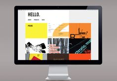 Innovation in Portfolio Design by Shilka Kunhimon, via Behance