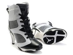 size 11 12 13 2011 air jordans 6 vi high heels black white for sale