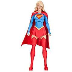 DC Collectibles Supergirl Action Figure. ** Find out more about the great product at the image link. (This is an affiliate link) #CollectibleTradingCardsAccessories